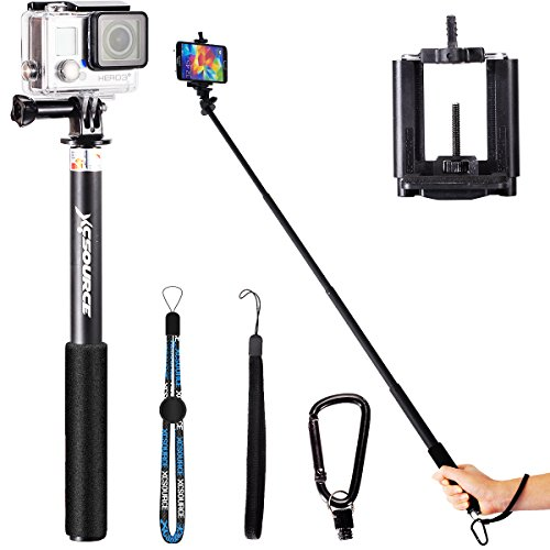 professionale selfie stick monopiede estensibile handheld monopod per iphone 6 5 5s 4s 4 samsung. Black Bedroom Furniture Sets. Home Design Ideas