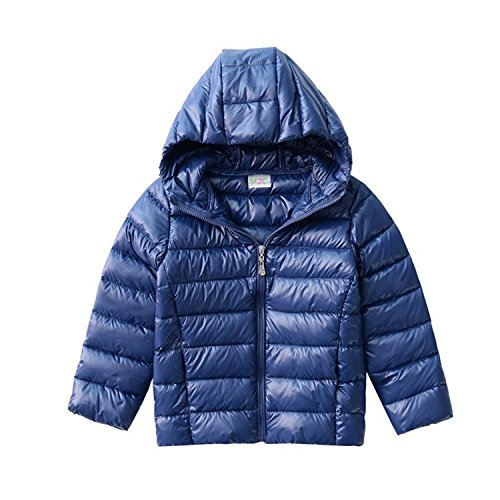 M2C Kid Boy Girl Lightweight Hoodie Down Jacket Outdoor Parka Winter Coat (Down Jacket Kids compare prices)