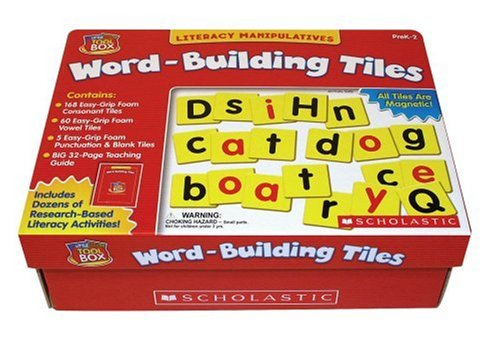 Little Red Tool Box: Word-Building Tiles (Red Words compare prices)