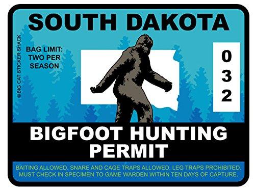 South Dakota Bigfoot Hunting Permit
