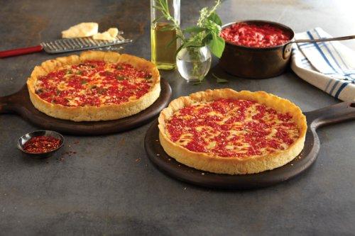 2 Lou Malnati's Chicago-style Deep Dish Pizzas (1 Sausage & 1 Pepperoni) (Chicago Style Deep Dish Pizza compare prices)