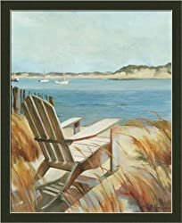 Sea Breeze by Marilyn Hageman Coastal Seascape Wall Art Print Framed Décor