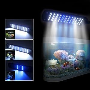 CM-48 48 LED Aquarium Clip Lamp Black US