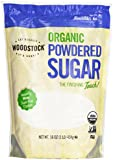 Woodstock Organic Powdered Sugar, 16 oz