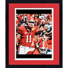 Framed Aaron Murray Georgia Bulldogs Autographed 16