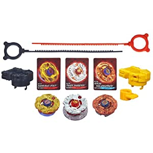 Amazon.com: Beyblade Shogun Steel Battle Tops Fire Team