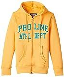Proline Kids Boys' Sweatshirt (PV09805B_Yellow_L)