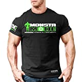 Monsta Clothing Co. Men's MonstaMode T-shirt Large Black