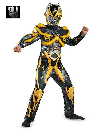 Disguise Hasbro Transformers Age of Extinction Movie Bumblebee Deluxe Boys Costume