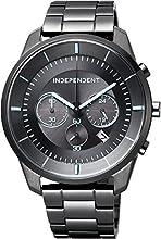 [シチズン]CITIZEN 腕時計 INDEPENDENT インディペンデント Timeless Line Chronograph KF5-144-51 メンズ