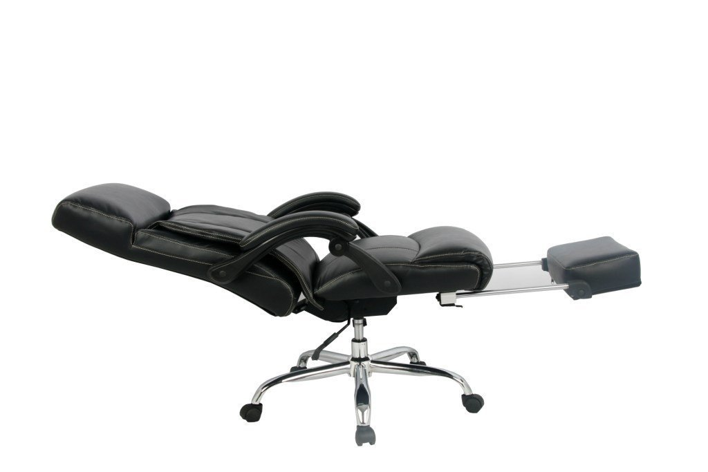 Reclining Office Chair, VIVA OFFICE High Back Bonded Leather Chair with Footrest- Viva08501 for your power nap @ work.