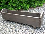 Wooden Planter box 50x18x18 with curved detail