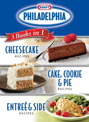 Kraft Philadelphia 3 Books in 1 Cookbook (Kraft Recipes compare prices)
