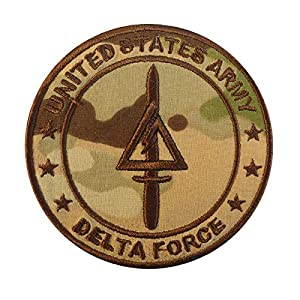 Multicam Call of Duty COD Delta Force US Armée Operational Detachment Delta SFODA-D SFG Velcro Écusson Patch