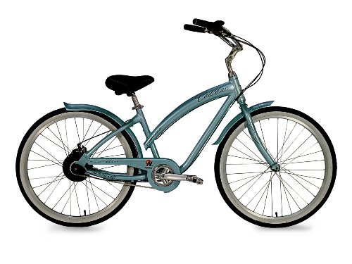 Cadillac Ladies Fleetwood Cruiser Bike, Light Blue
