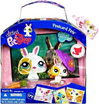 LPS Postcard Pets Wave 03 - Bunny - 1