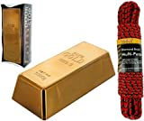 Gold Bar Door Stop Bundle With Braid Multi-Purpose Rope