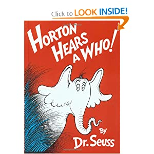 Horton Hears A Who! by
