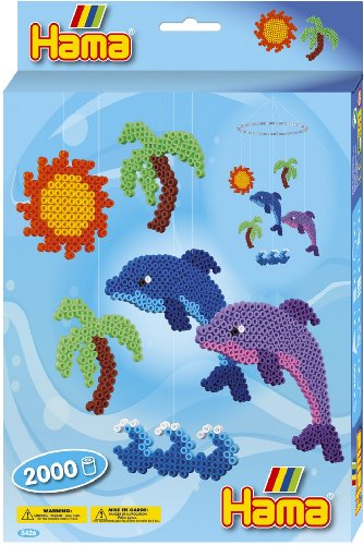 Hama / Dolphin Mobile Fuse Beads Gift Set