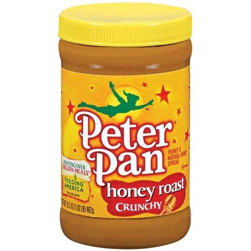 Peter Pan, Honey Roasted Peanut Butter, Crunchy, 28oz Jar (Peanut Butter Peter Pan Honey compare prices)