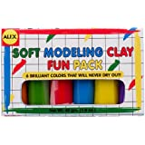 ALEX Toys Artist Studio Modeling Clay Fun Pack with 6 colors