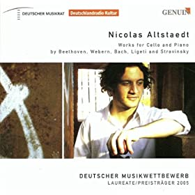 Cello Sonata No. 4 in C Major, Op. 102, No. 1: III. Adagio