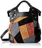 Foley + Corinna Patchwork Lady Convertible Foldover Bag