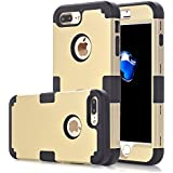 IPhone 7 Plus Case Asstar 3 In 1 Hard PC Soft TPU Impact Protection Heavy Duty Shockproof Full-Body Protective...