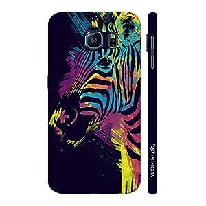 Enthopia Designer Hardshell Case Holi Zebra Back Cover for Samsung Galaxy S7 Plus