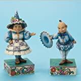 Wizard of OZ Munchkin Figurine Set of 2 Wee Welcome Jim Shore Heartwood Creek
