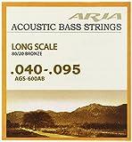 ARIA  アリア Acoustic Bass アコースティックベース弦 80/20ブロンズ AGS-600AB
