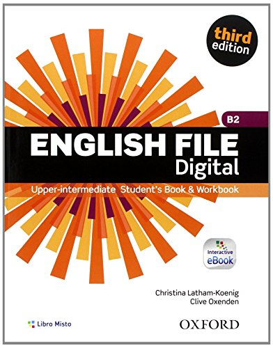 English file digital Upper intermediate plus Entry checker Student's book Workbook With key Con e book Con esp PDF