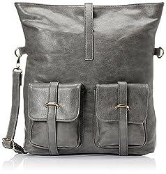 Done By None Women's Handbag (Grey)