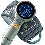 Tensiomètre Pulsomètre Digital - Gros chiffres - Design, ergonomique et précis