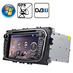 See Rungrace 7.0 inch Windows CE 6.0 TFT Screen In-Dash Car DVD Player for Ford Mondeo with Bluetooth / GPS / RDS / DVB- Details