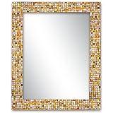 Decorative Smith Glass Accent Mirror (Pack Of 3) - (Rainbow Rhapsody)