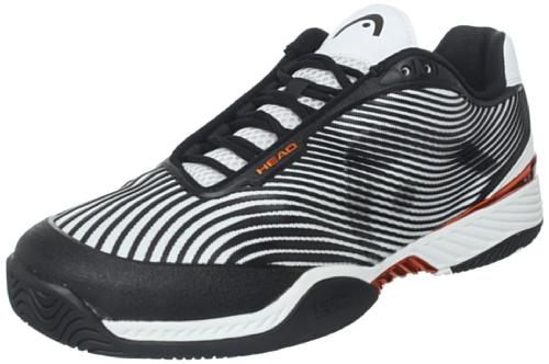 new concept c11bb 3e153 Head Men s Speed Pro III Tennis Shoe Black White Copper 7 5 M US