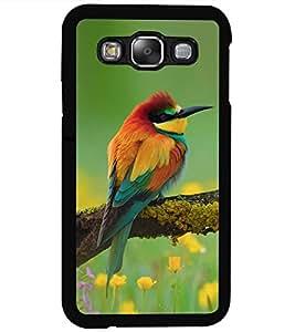ColourCraft Amazing Bird Design Back Case Cover for SAMSUNG GALAXY E5