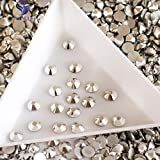 ASTONISH YANRUO 2058NoHF Labrador Flatback Rhinesones DMC Rhinestones Non Hot Fix Strass Cristal Loose Rhinestones Crystal for Clothing: Labrador, SS16 1440pcs