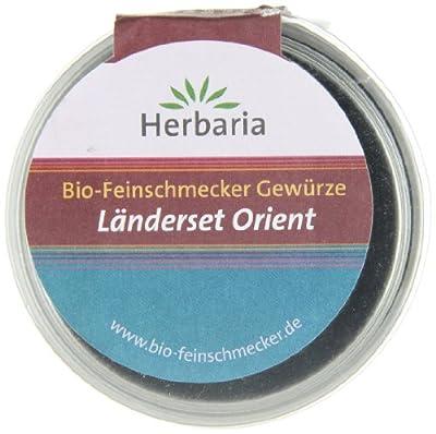 Herbaria Länderset Orient - Probier- und Geschenkset aus vier Bio-Feinschmecker Gewürzmischungen, 1er Pack (1 x 145g) - Bio von Herbaria auf Gewürze Shop