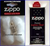 ZIPPO LIGHTER FLUID FUEL PETROL WADDING COTTON FELT WICK AND FLINTS