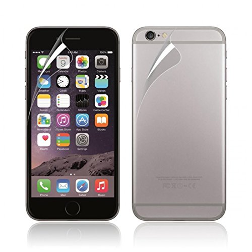 Coromose Front And Back Clear Film Lcd Screen Protection For Iphone 6 Plus 5.5