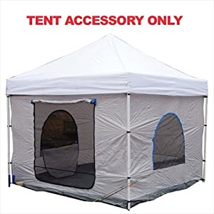 King Canopy EPATN10BL 10-Feet by 10-Feet Explorer Accessory Tent Room, Blue and Grey... by King Canopy