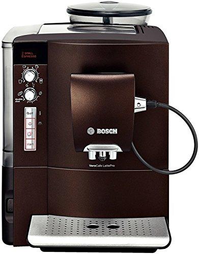 Bosch TES50658DE Kaffee-Vollautomat VeroCafe LattePro (1.7 l, 15 bar, Cappuccinatore) tiefes Espressobraun thumbnail