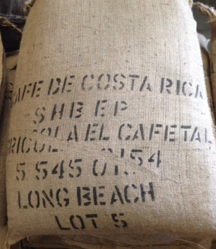 5LBS Costa Rica Tarrazu Unroasted Green Coffee Beans