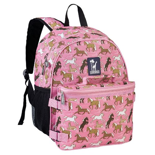 wildkin-horses-in-pink-bogo-backpack-with-lunch-bag-one-size