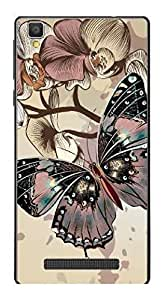 UPPER CASE™ Fashion Mobile Skin Vinyl Decal For Xolo Opus HD [Electronics]