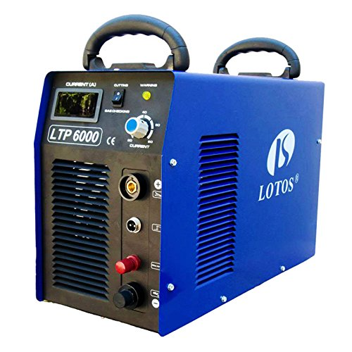 Lotos-Technology-LTP6000-60Amp-Non-Touch-Pilot-Arc-Plasma-Cutter-Blue-34-Inch-Clean-Cut