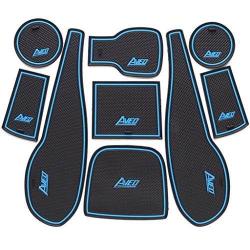 9-pcs-blue-and-black-rubber-non-slip-interior-door-mat-cup-mat-for-chevrolet-aveo