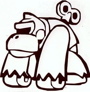 Donkey Kong Wind Up Vinyl CarLaptop Decal Amazoncom